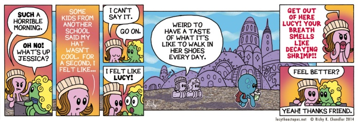 Lucy the Octopus by Richy K. Chandler